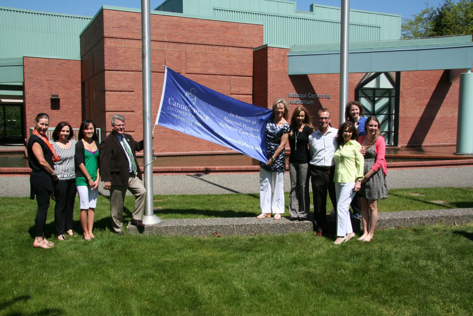City of Abbotsford Flag Raising
