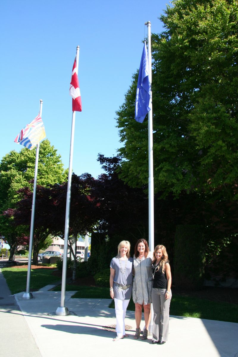 Chilliwack Flag Raising