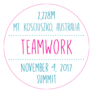 Liz Rose Seven Summits- Teamwork
